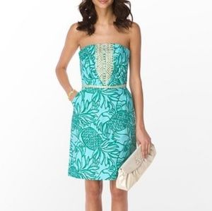 Lilly Pulitzer Bloomy Dress in Toucan Tango
